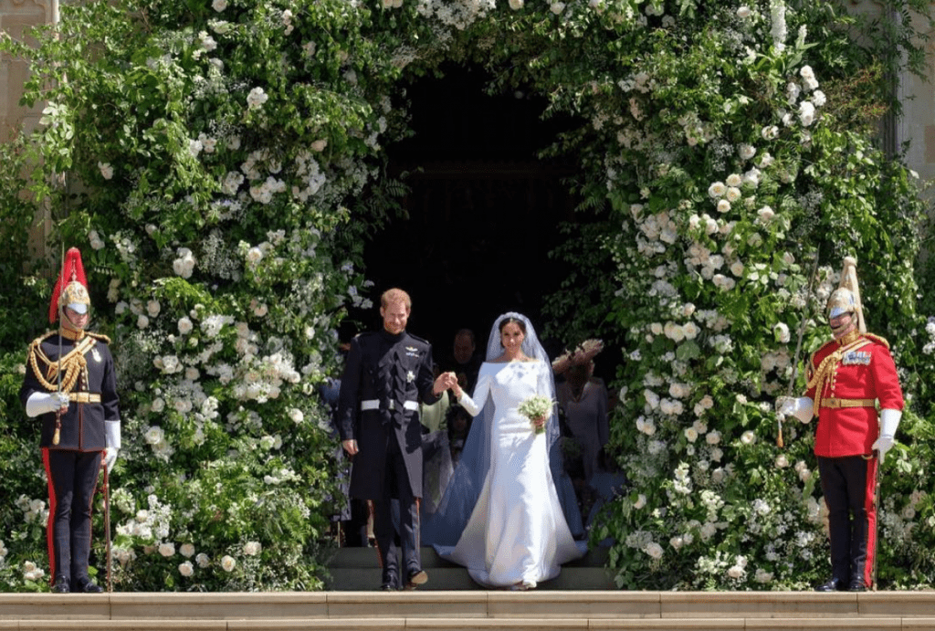 meghan and harry flowers